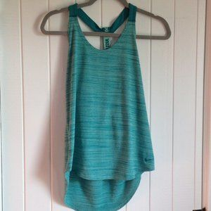 NIKE Dri-Fit Teal Loose tank Size S